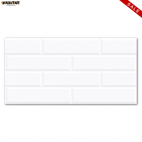 HABITAT: Habitat Bricks White 25x50 KW2