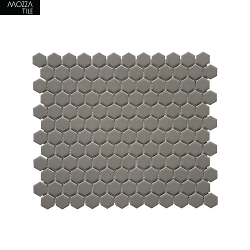 MOZZA TILE MOZZA TILE Hexa Mini Matte Warm Grey 23x26mm (60x300mm) - 1