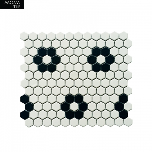 MOZZA TILE MOZZA TILE Hexa Mini Mix-1 23x26mm (260x300mm) - 1