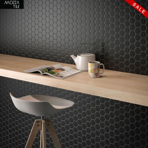 MOZZA TILE MOZZA TILE Hexa Mini Matte White 23x26mm (260x300mm) - 2