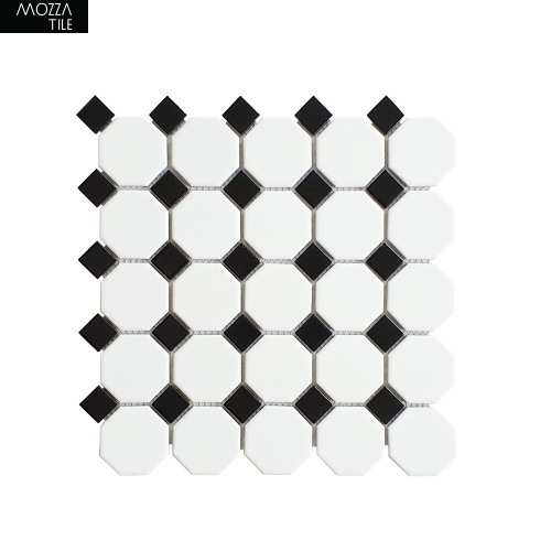MOZZA TILE: MOZZA TILE Octa Matte White 56x60mm (295x295mm)