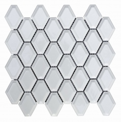 Venus Tiles Pottery Mini Diamond White 28x27.7