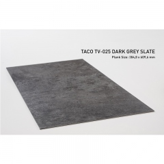 Vinyl Plank TACO 3mm TV-025 Dark Grey Slate (1 dus = 3,34 m2)