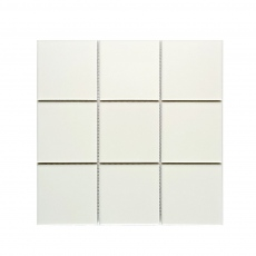 MOZZA TILE Square Glossy White 97x97mm (300x300mm)