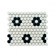 MOZZA TILE Hexa Mini Mix-1 23x26mm (260x300mm)