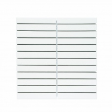MOZZA TILE Plaza Glossy White 22x145mm (300x296mm)