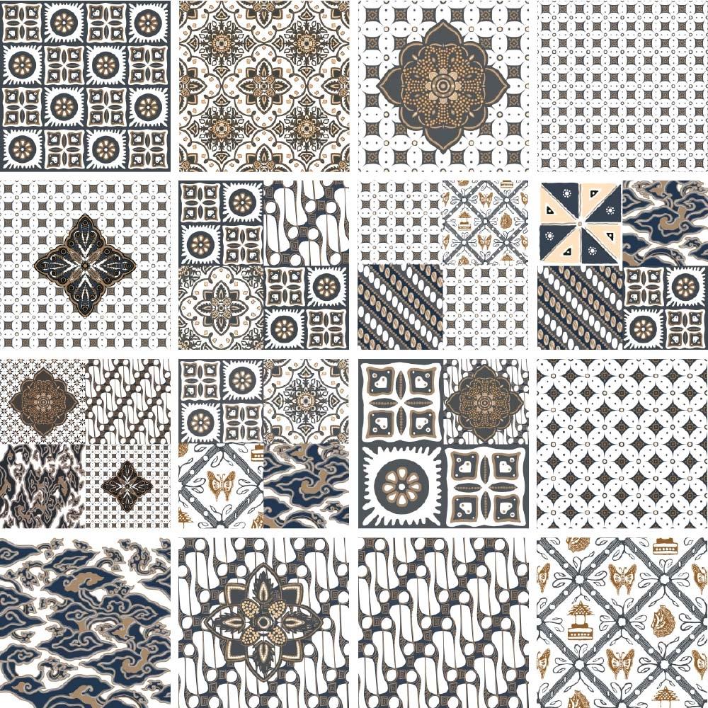 Inspirasi Baru 40 Keramik Roman Motif Batik
