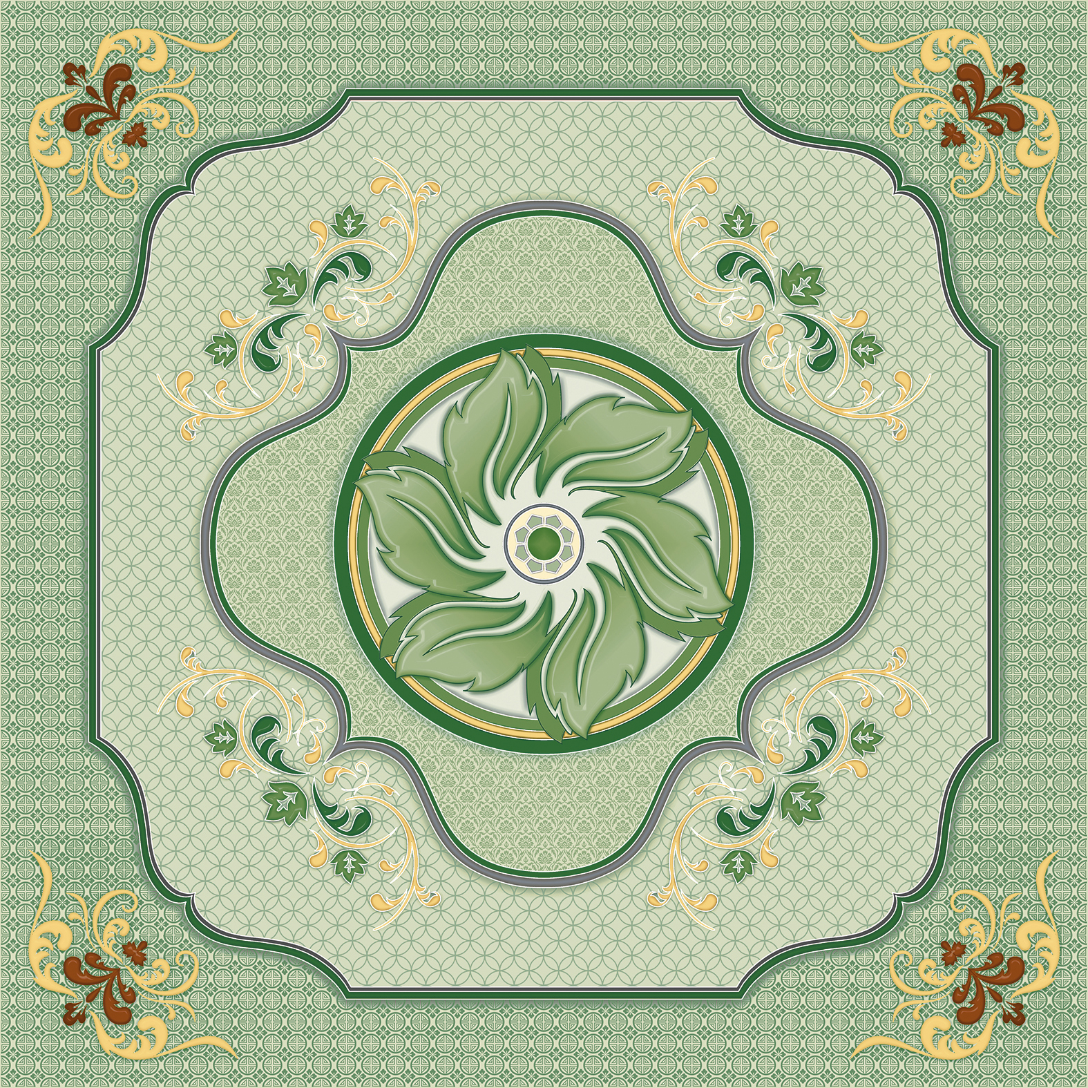 SOLARIS: Solaris Dubai Green 40x40 - small 1
