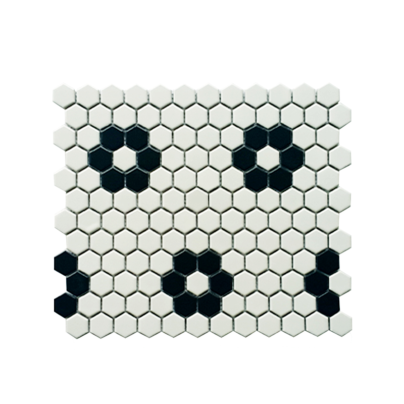 MOZZA TILE: MOZZA TILE Hexa Mini Mix-1 23x26mm (260x300mm) - small 1